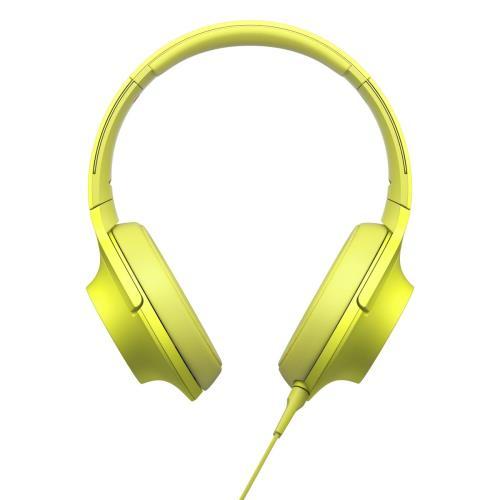 Casque audio Sony Premium MDR-100AAP Vert Citron