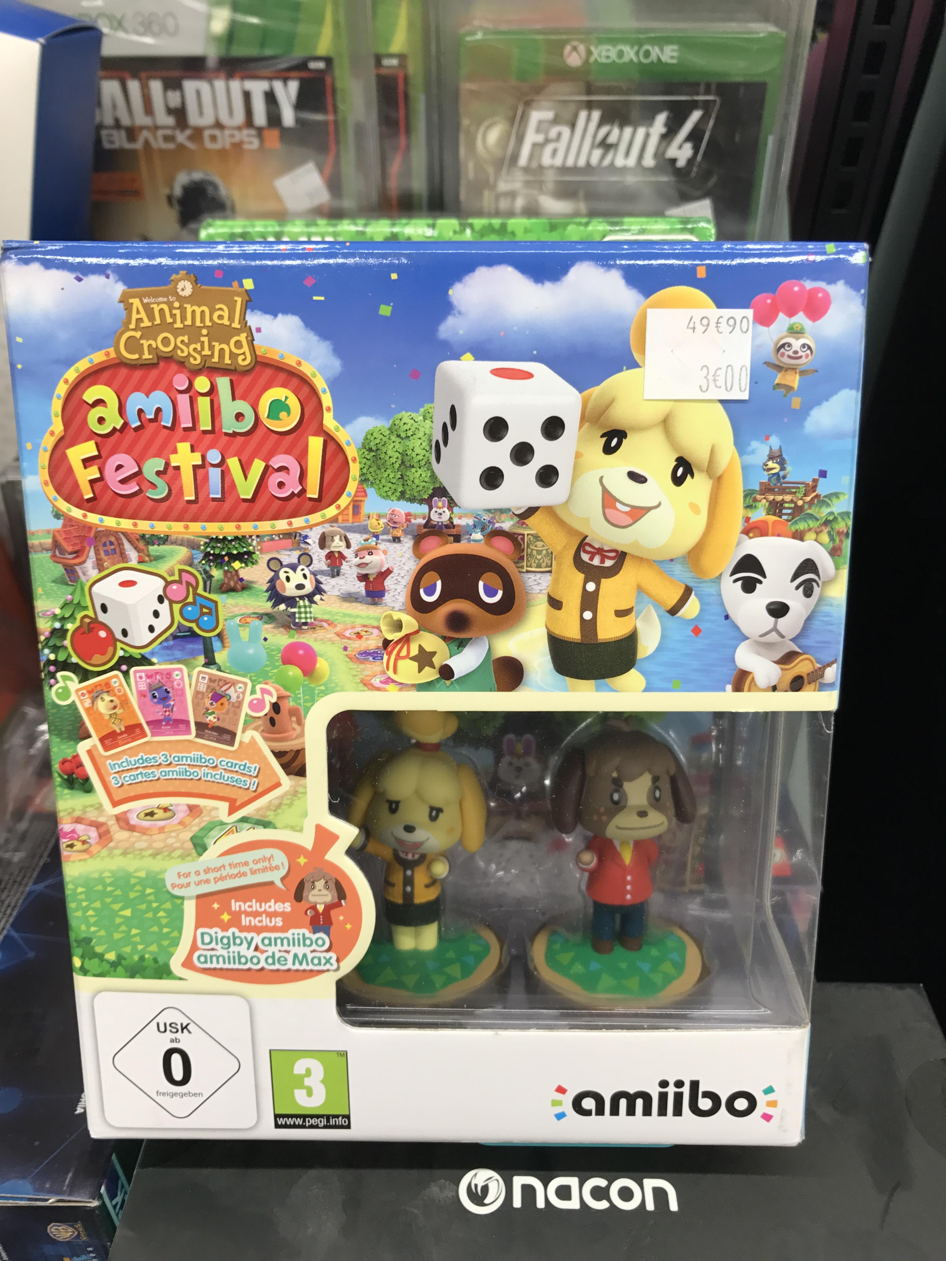 Pack amiibo Animal Crossing - Carrefour