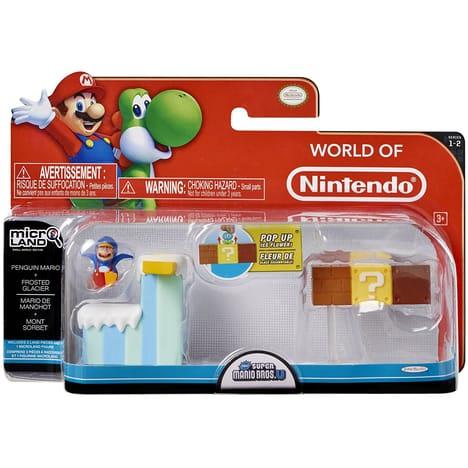 50% de réduction sur les produits Micro Playset (univers Mario et Zelda) - Ex : Pack série2 (Mario Pingouin) à 7.5€