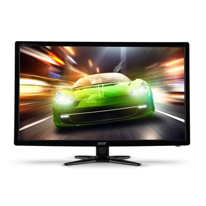 "Ecran PC 24"" Acer G246HLGbid - Full HD, Dalle TN, 1 ms"