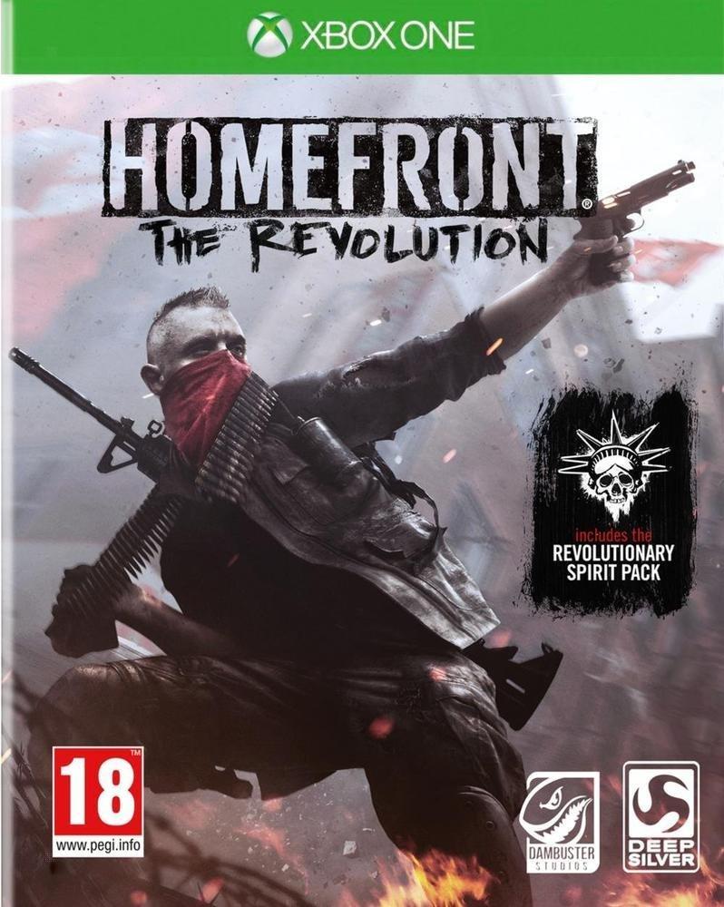 Homefront : The Revolution - édition première sur Xbox One (vendeur tiers)