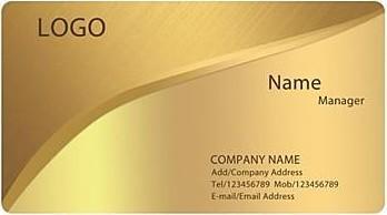 100 cartes de visite personnalisées