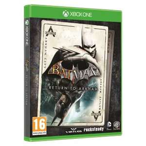 Batman Return to Arkham sur Xbox One