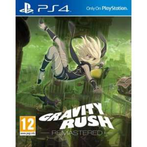 Gravity Rush Remastered sur PS4