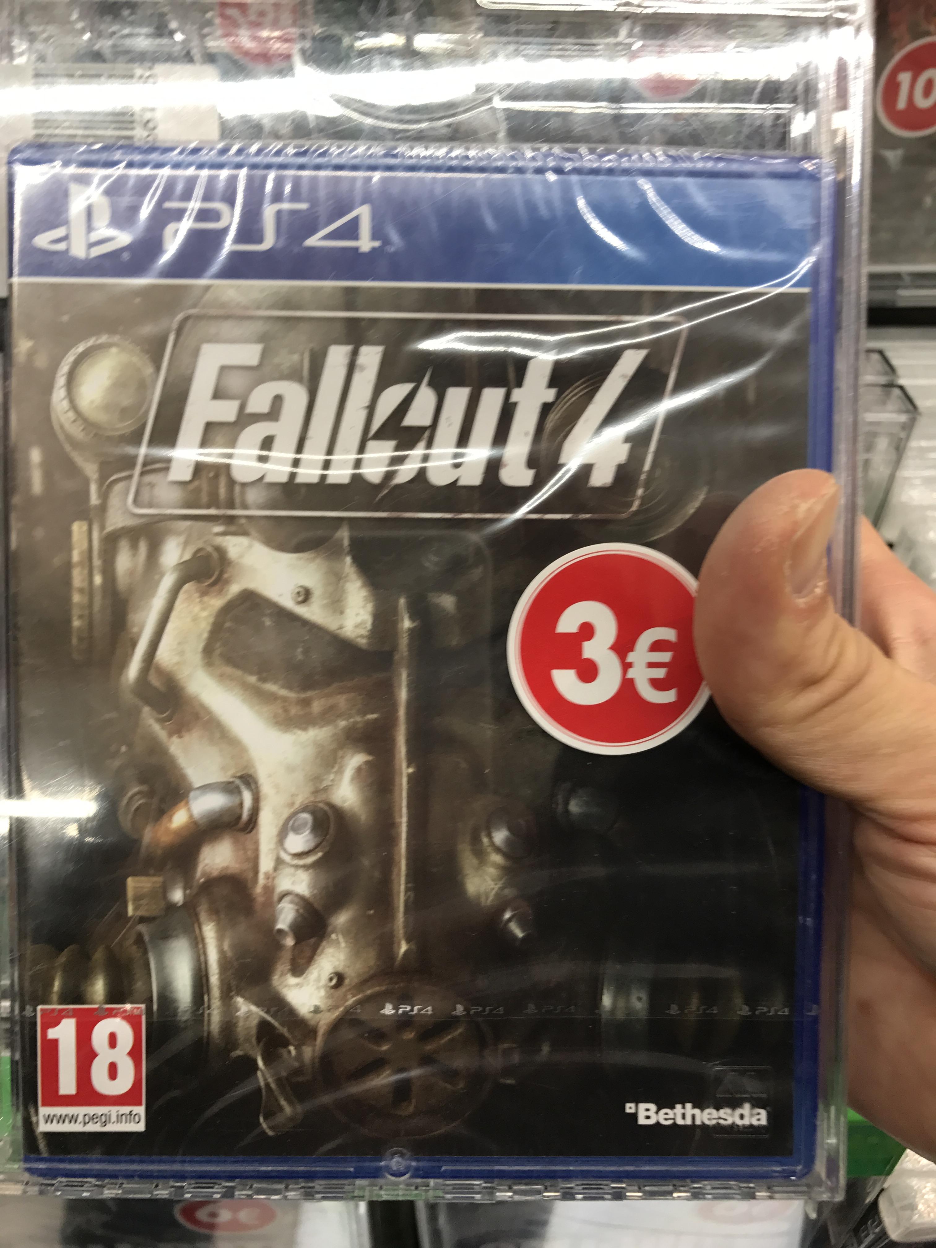 Fallout 4 sur PS4 ou XBox One