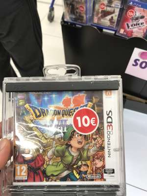 Dragon Quest VII 3 DS - Carrefour Porte d'Auteuil (93)
