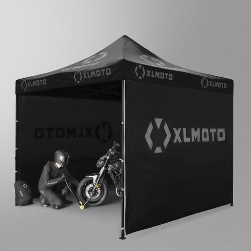 Tente paddock Noir XLMOTO 3X3M
