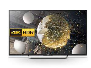 "TV 65"" Sony KD65XD7505BAEP - 4K UHD, LED, smart TV"