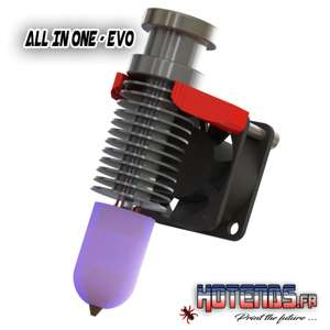 Hotend All In ONE - EvO pour imprimante 3D