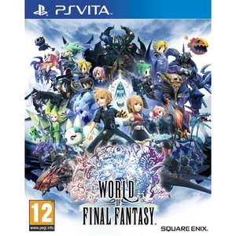 Jeu World of Final Fantasy sur PS Vita