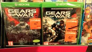 Sélection de jeux xbox one à -70% - Ex : gears of war 4 et gears of war ultimate ou Recore - Cultura