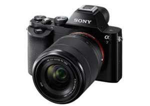 Compact hybride Sony Alpha 7 noir + 28-70 mm (via ODR 100€)