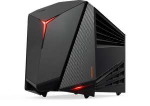 PC de bureau Lenovo Y720 Gaming Compact - i5-7400, RX4600 4Go, 8Go RAM, 256Go SSD (Frontaliers Luxembourg)