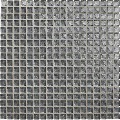 Jusqu'à 50% sur la mosaique - Ex : Mosaïque mur Shine argent 1.5 x 1.5 cm