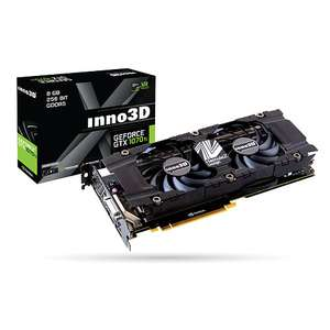 Carte Graphique INNO3D GeForce GTX 1070 Ti TWIN X2