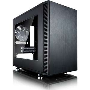 Fractal Design Define Nano S, Noir - Version Fenêtre