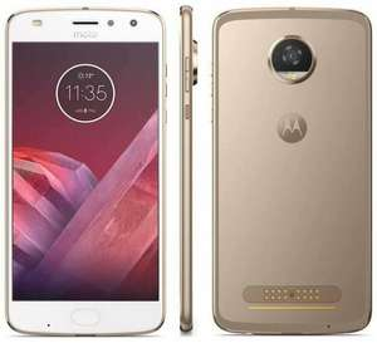 Smartphone Motorola Z2 play blanc