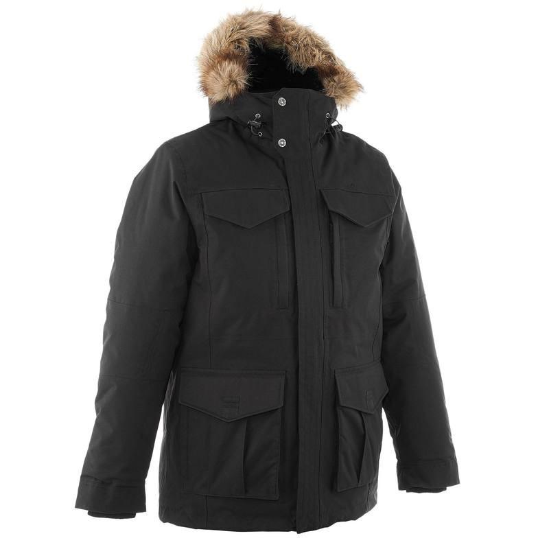 Veste de randonnée neige Homme Quechua SH900 Chaude Noir