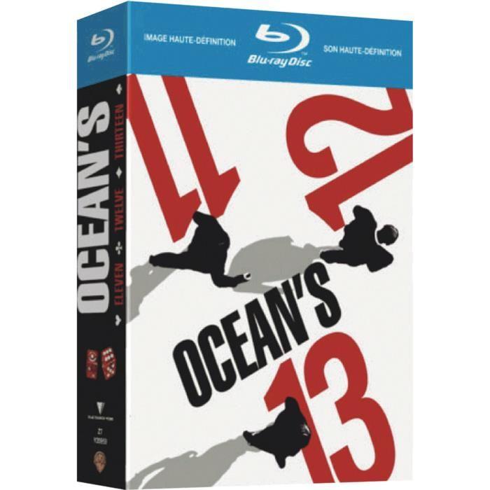 Coffret Blu-Ray Trilogie Ocean's 11 + 12 + 13
