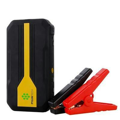 Kit Batterie de voiture – 13600mAh 500A, Lampe, Pince croco  (vendeur tiers)