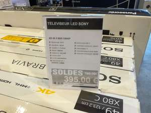 TV 49' ' Sony KD49X8005 4K Android TV - Leclerc Amilly (45)