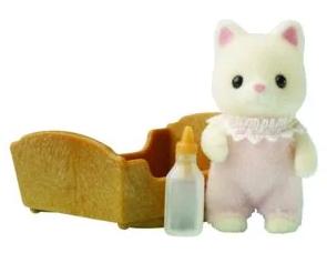 Bébé chat soie sylvanian - 3417