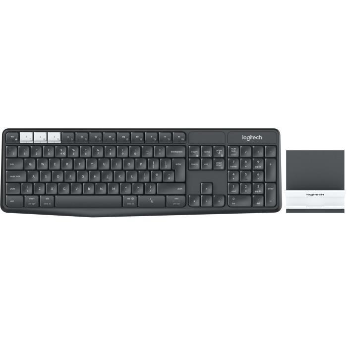 Pack clavier souris Logitech K375s
