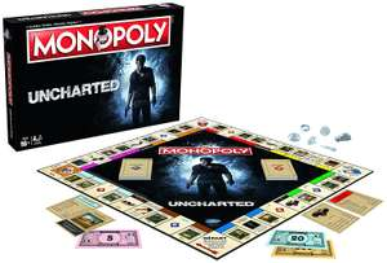 Jeu de Société Winning Moves - Monopoly Uncharted (Version Française)