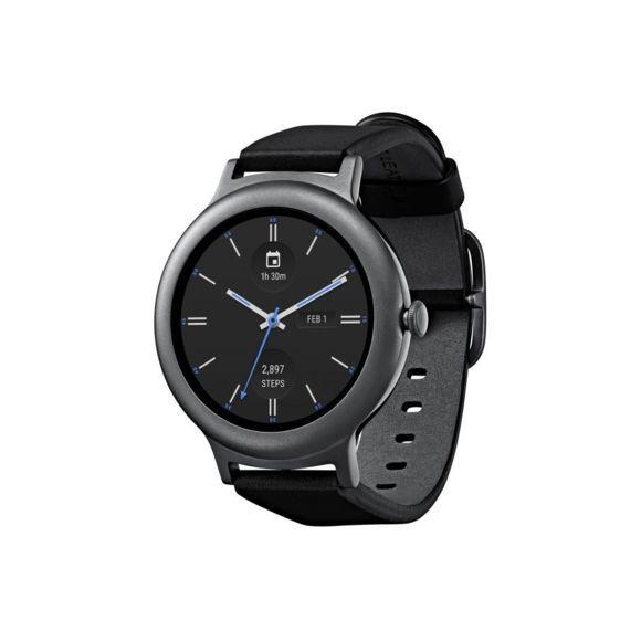 Montre connectée LG Watch Style W270 - Cuir Noir