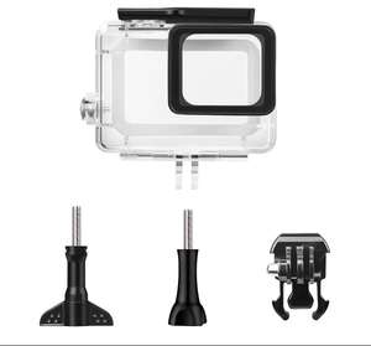 Boîtier Étui Protecteur Étanche pour Caméra Action GoPro Hero 6 ou 5 (avec support et vis) - (vendeur tiers)