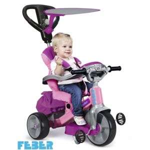 Tricycle Feber Baby twist 360 rose