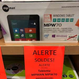 "Tablette 7"" MPMan MPW70 16Go, Windows - Olivet (45)"