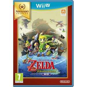The legend of zelda wind waker Sur Wii U