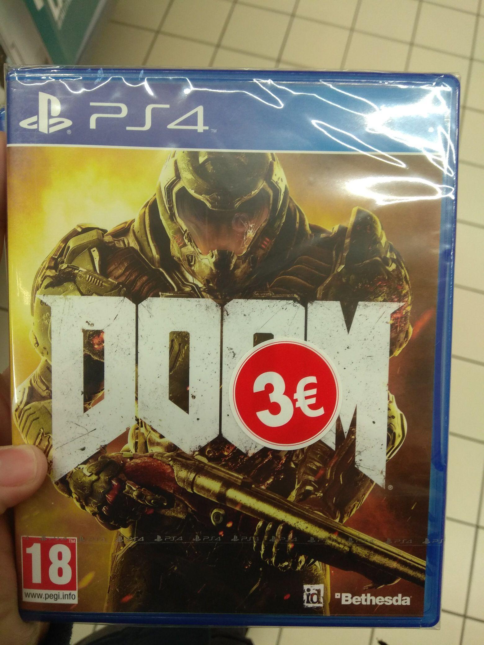Doom sur PS4 - Cherbourg (50)