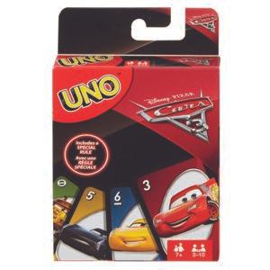 Jeu de cartes Uno - Cars 3