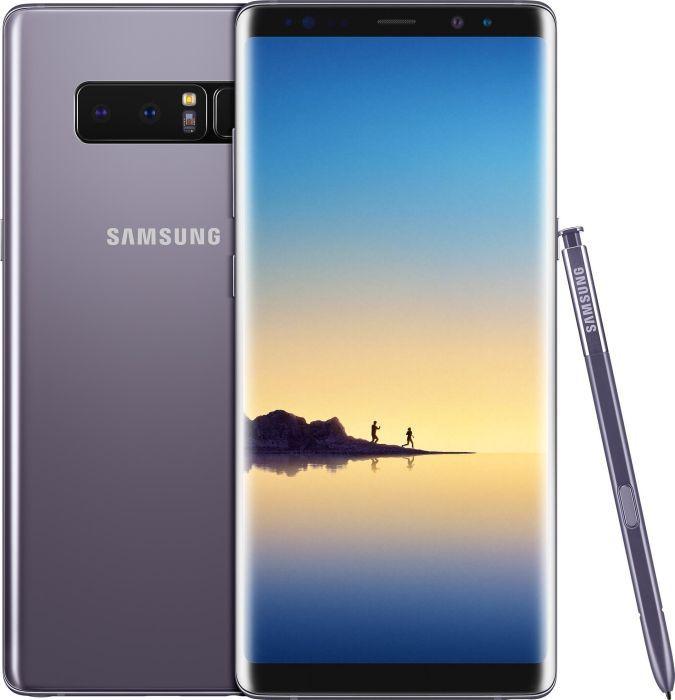 """Smartphone 6.3"""" Samsung Galaxy Note 8 Double SIM 64 Go Gris orchidée + (135€ en Superpoints)"""