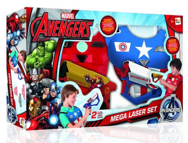 Set Méga Laser  Marvel Avengers