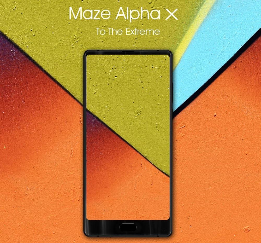 Maze Alpha X - 6Gb RAM - 64Gb ROM - 4G (avec B20)