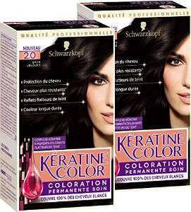Lot de 2 packs  Coloration Kératine Color Schwarzkopf (BDR de 2€)