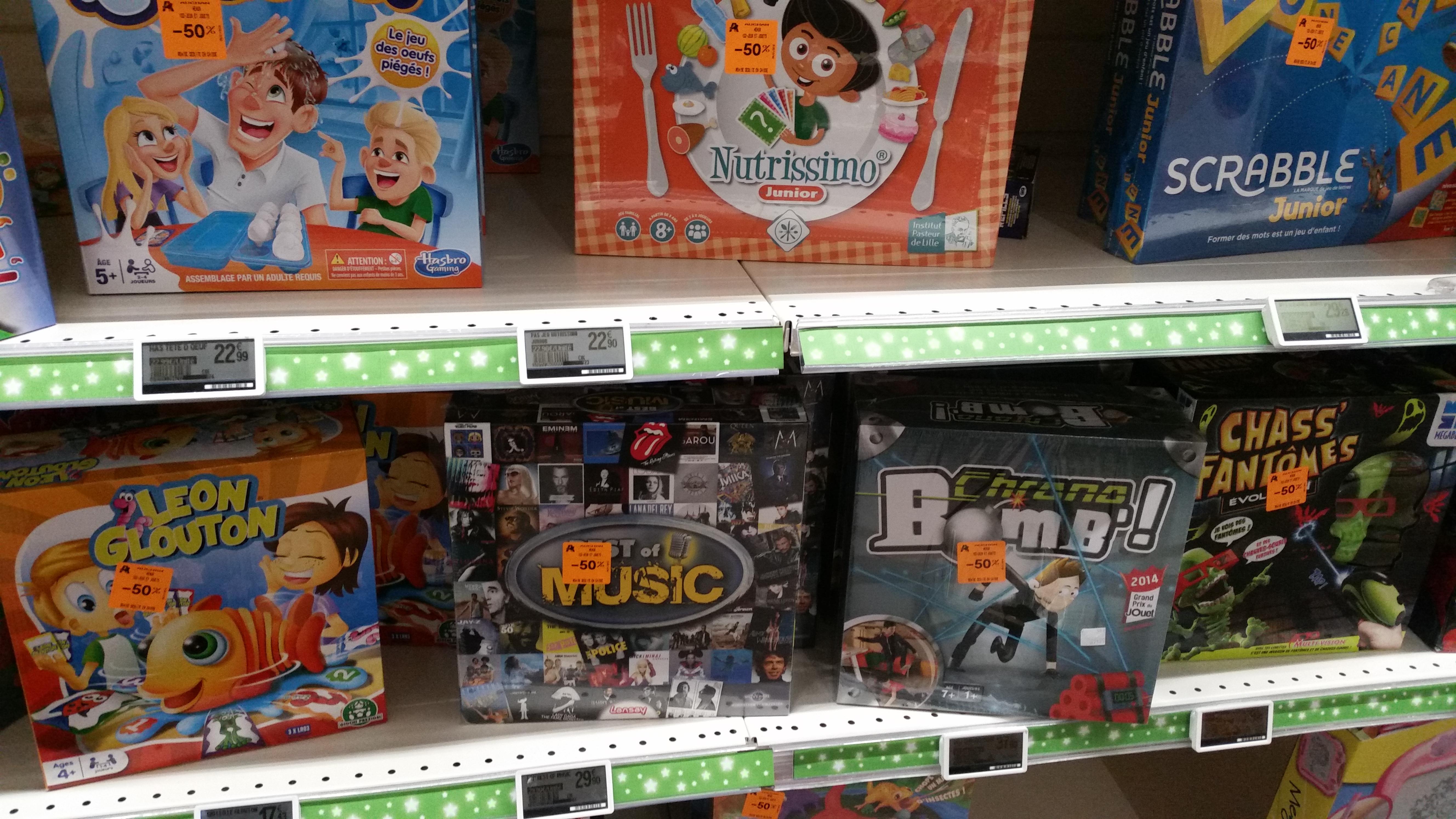 -50% sur une sélection de jeux de société et jouets, -30% sur les Lego - Meaux (77)