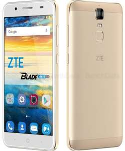 "Smartphone 5.5"" ZTE Blade A610 Plus Or - IPS Full HD, Octo-core 1.5GHz, RAM 4Go, 32Go, 5000mAh, Android 6.0 (Via ODR 30€)"