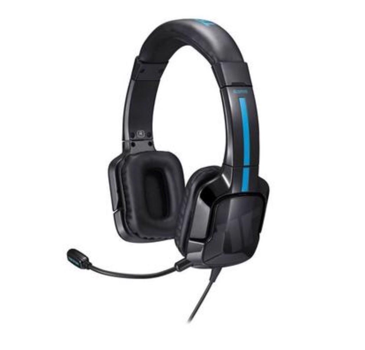 Casque audio filaire Tritton Kama - pour PS4, noir