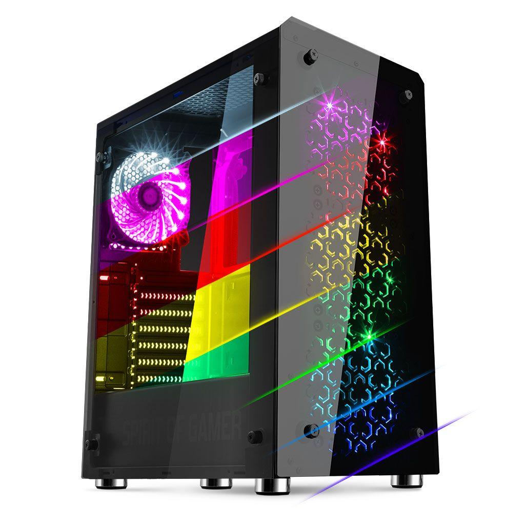 Boitier PC Gamer Spirit of Gamer Rogue IV (RGB)