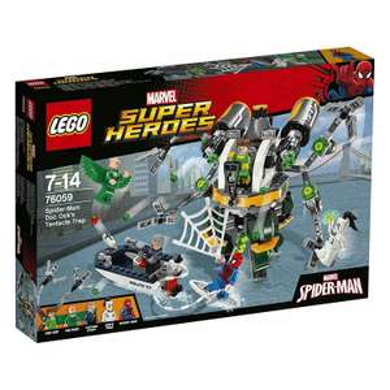 Jouet Lego Marvel Super Heroes - Spider-Man: Doc Ock's Tentacle Trap (76059)