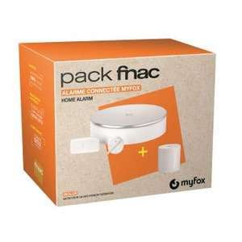 Pack Fnac Alarme MyFox/Somfy Home Alarm + Détecteur de mouvement intérieur