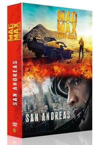 Coffret DVD San Andreas + Mad Max Fury Road