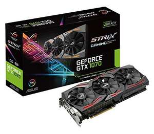 Carte graphique Asus ROG Nvidia GeForce GTX 1070 STRIX-GTX1070-O8G