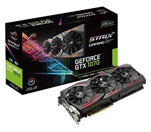 Carte graphique Asus ROG Nvidia GeForce GTX 1070 STRIX-GTX1070-O8G