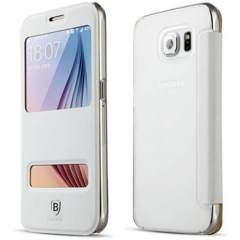 Etui Rabattable Samsung Baseus pour smartphone Samsung Galaxy S6