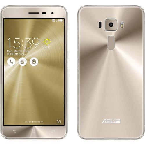"""Smartphone 5.2"""" Asus ZenFone 3 -full HD, SnapDragon 625, 3 Go de RAM, 32 Go, or"""